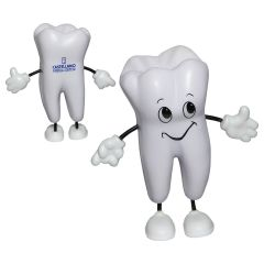 happy tooth personalized stress reliever