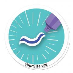 Toothpaste Sticker