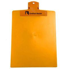 orange clipboard with an imprint saying cardinal health