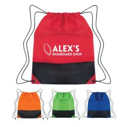 Two-Tone Drawstring Sportpack