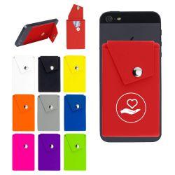 Cell Phone Wallet Snap Pocket