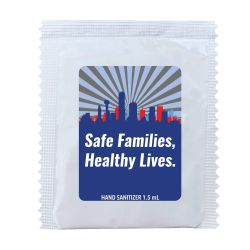 Dallas County Hand Sanitizer Packets