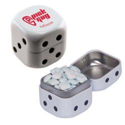 Sugar Free Gum Dice Tin