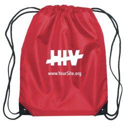 End HIV Drawstring Bag