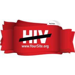 End HIV Sticker