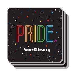 Gay Pride Neon Coaster