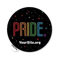Gay Pride Neon Sticker