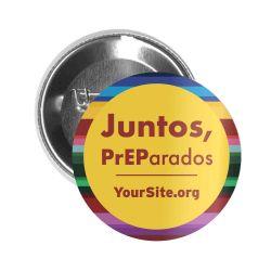 Juntos PrEParados Button Pin