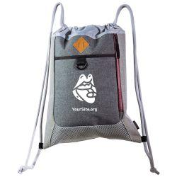 PrEP Mouth Premium Drawstring Bag