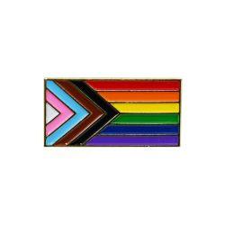 Pride Inclusive Flag Enamel Pin