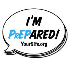 I'm PrEPared Sticker