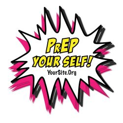 PrEP Your Self Sticker