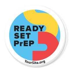 Sticker - Ready Set PrEP