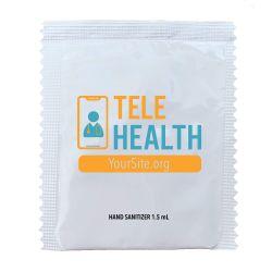 TeleHealth Hand Sanitizer Packets