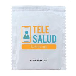TeleSalud Hand Sanitizer Packets