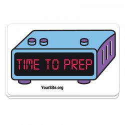 Time to PrEP Sticker