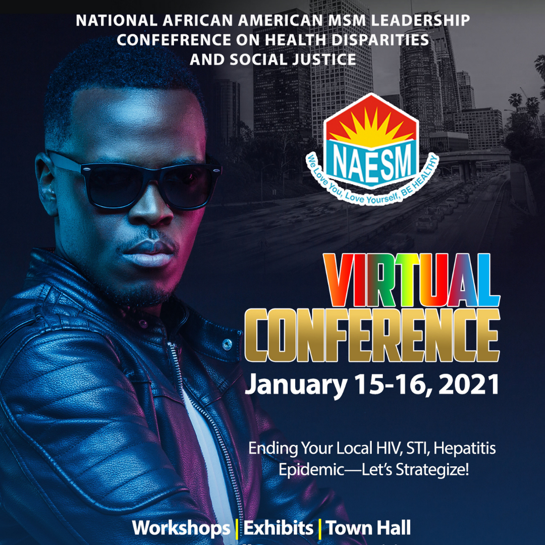 2021 Virtual National African American MSM Leadership Conference (NAESM)