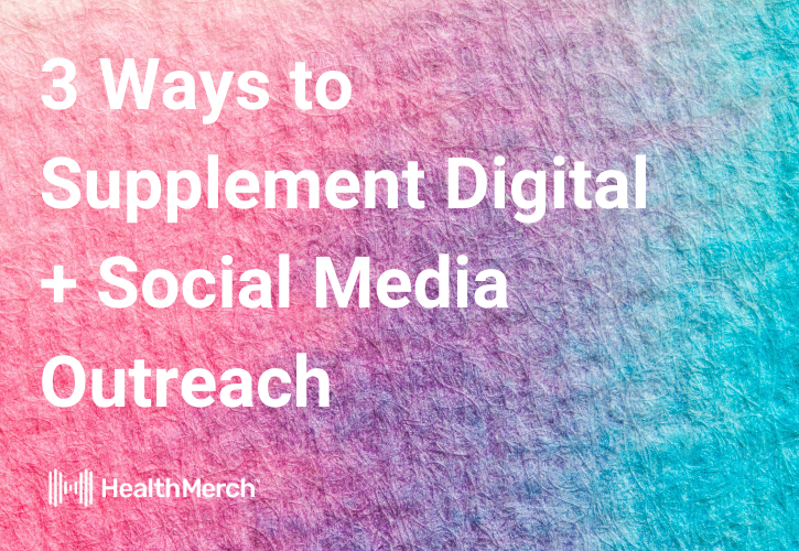 3 Ways to Supplement Digital + Social Community Engagement + Outreach